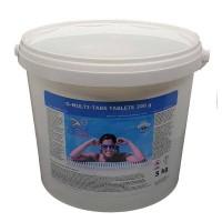 Clor lent Multi-Tabs pentru piscine 5kg