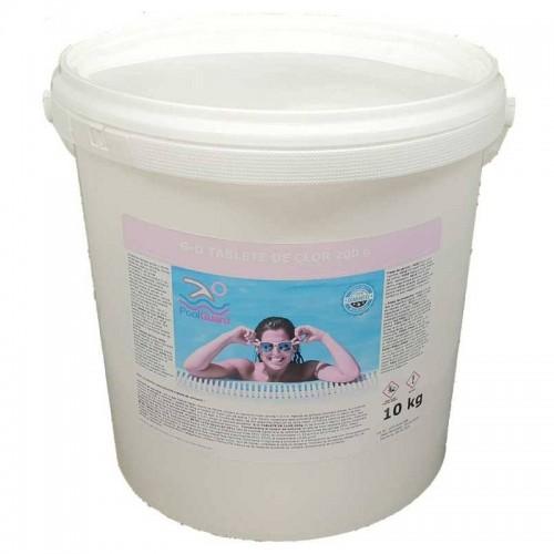 Clor lent tablete pentru piscine 10kg