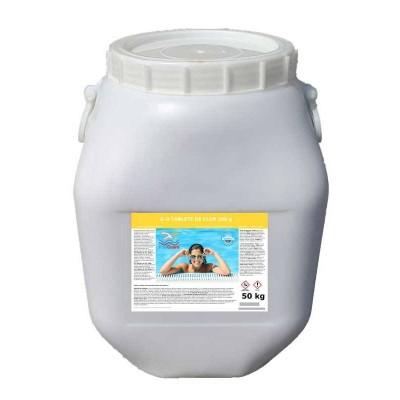 Clor lent tablete pentru piscine 50kg