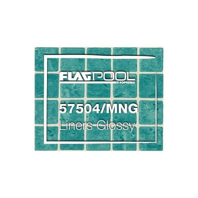 Liner PVC 1.5mm Green Mosaic - Flagpool
