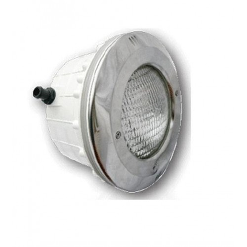 Proiector LED RGB cu nisa, 18W, fata inox