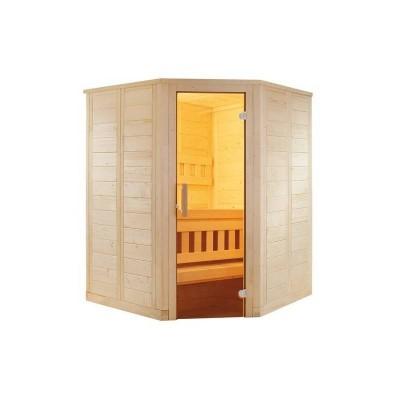 Cabina colt sauna uscata Wellfun 204x204cm