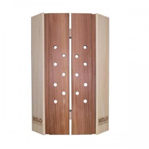 Abajur din lemn pentru sauna