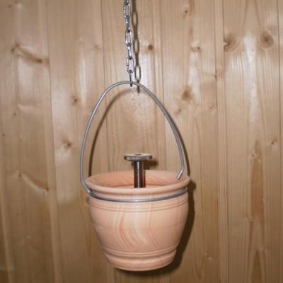 Vas de lut pentru esente sauna