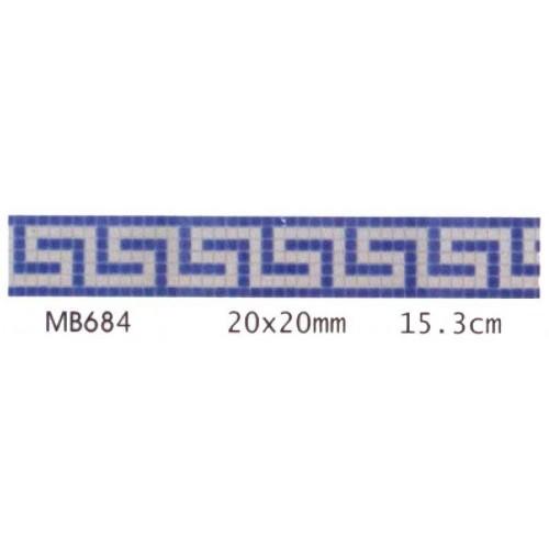 Friza mozaic de sticla MB 684