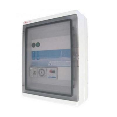 Panou electric pentru sistem de filtrare si lumini cu transformator integrat