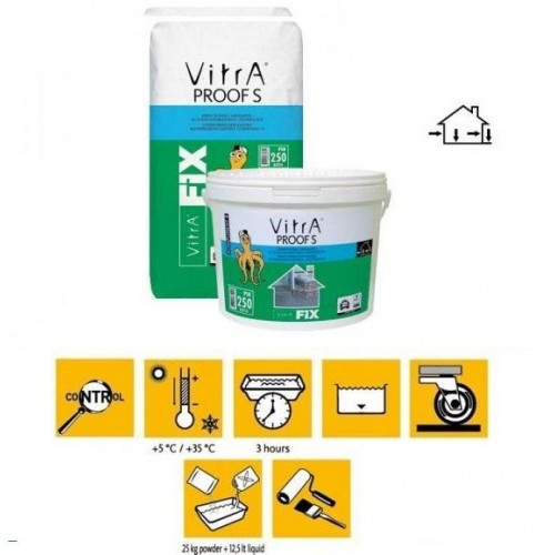 Hidroizolatie VitrA Fix Proof S