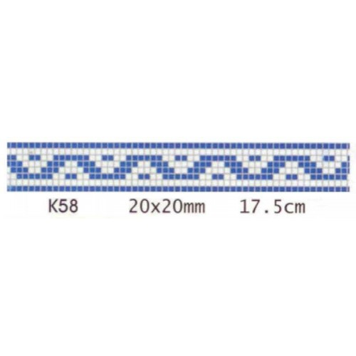 Decoratiune mozaic de sticla K58