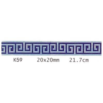 Decoratiune mozaic de sticla K59