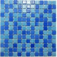 Mozaic Mixt Pool Fog/Blue Fog, suport polyurethane
