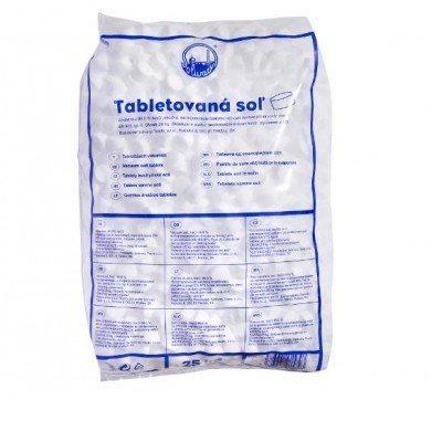 Tablete sare pentru electrolizor piscina 25 kg