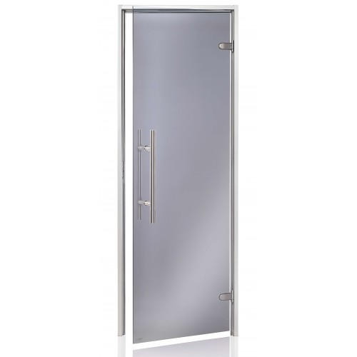 Usa premium baie aburi sticla gri 8 x 21