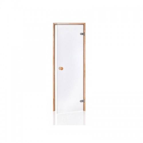 Usa sauna aspen sticla clara 700 x 2000 mm