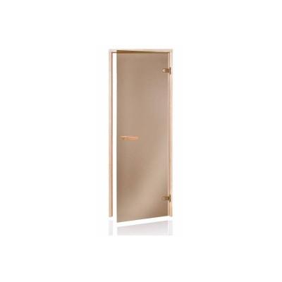 Usa sauna pin sticla bronz 700 x 1900 mm