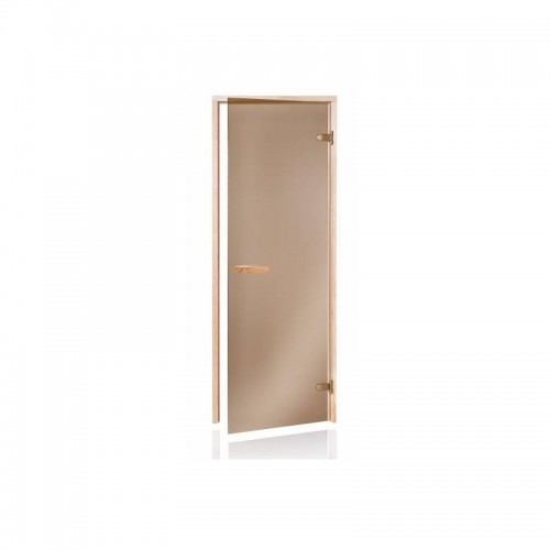 Usa sauna pin sticla bronz 700 x 1900 mm
